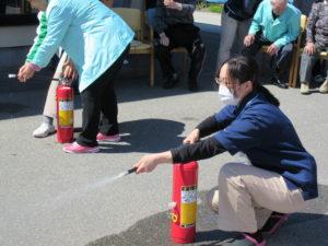 春の避難訓練
